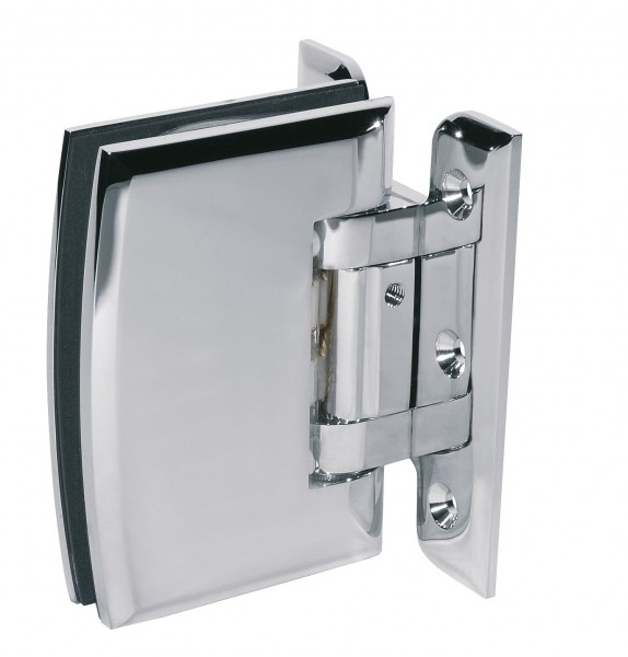 MILANO PUR shower door hinge glass-wall 90°