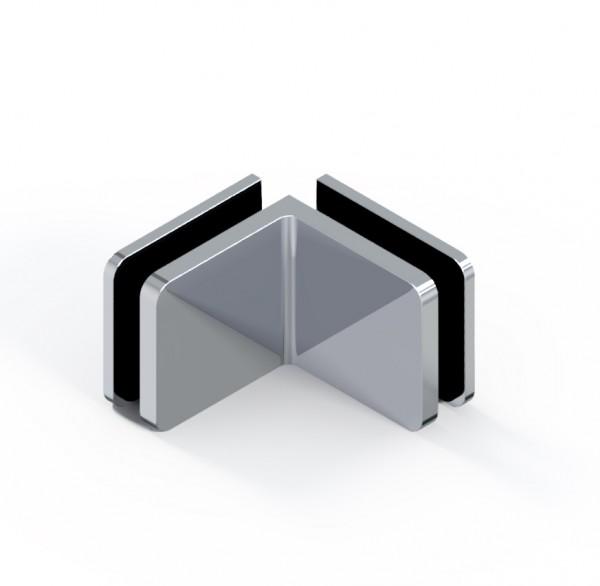 d•Lux Winkelverbinder Glas-Glas 90°