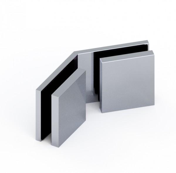 d•Lux Längsverbinder Glas-Glas 135°