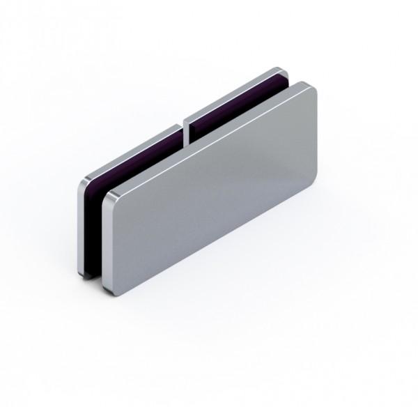 d•Lux Längsverbinder Glas-Glas 180°